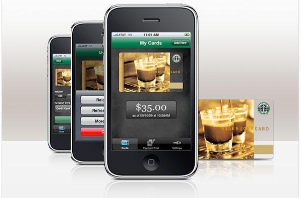 Starbucks iPhone app