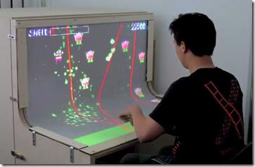 multitouch desk of the future