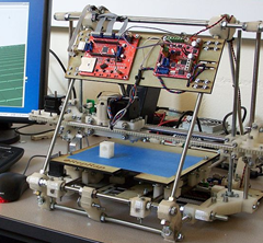 Rep Rap open source 3D printer